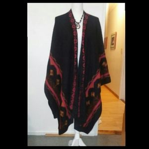 Fotrama Sweater  Shawl Extra Large 100% Alpaca